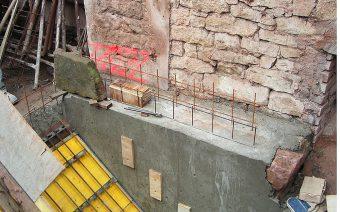 Einschalung Treppe